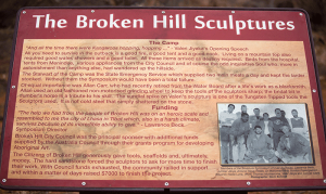 Broken Hill NSW Desert Sculptures