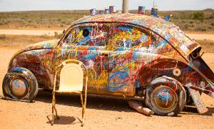 Car Artist John Dynon Silverton NSW
