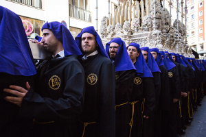 Carrying the Throne Semana Santa , Holy Week Spain -Image Shane Aurousseau