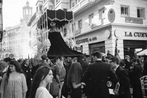The Throne of the Mourning Virgin Mary Malaga Image Shane Aurousseau