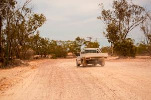Australia Outback roads many corrugated image Shane Aurousseau