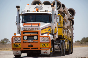 Australia Mack Road Train image Shane Aurousseau