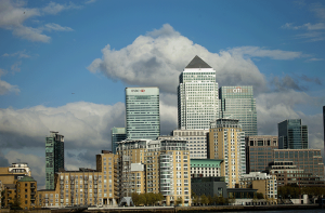 London financial centre Canary Wharf - Image Photographer Shane Aurousseau