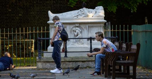 London Tomb of John Bunyan - Pilgrims Progress