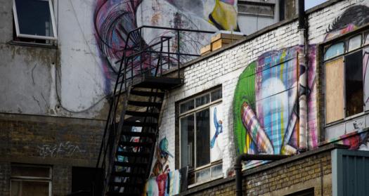 London Graffiti in the City