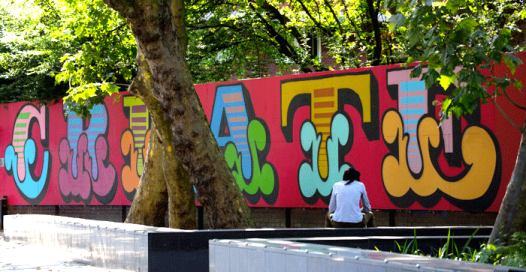 London Create don't kill memorial to young victims of knife crime - Old Street City of London