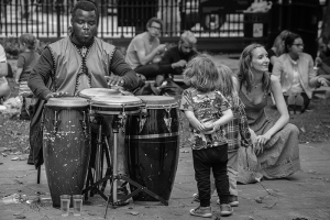 Busking at the LSO London Symphony Orchestra St Luke's Old Street - image Shane Aurousseau