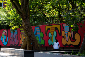 London Old Street memorial to young Knife crime victims - 'Create don't Kill'