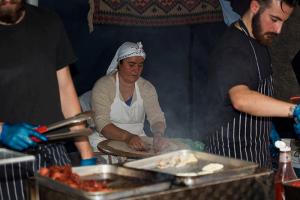 London UK Turkish Cooking Whitecross Street