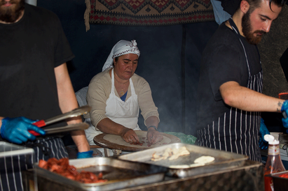 London UK Turkish Cooking Whitecross Street
