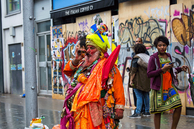 London Notting Hill Carnival - shock