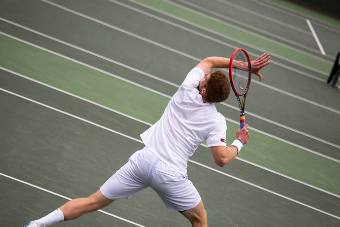 It's Summer Tennis Surfing Action Images by Shane Aurousseau