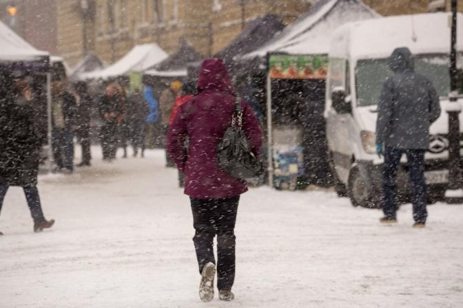 London in Winter by Shane Aurousseau