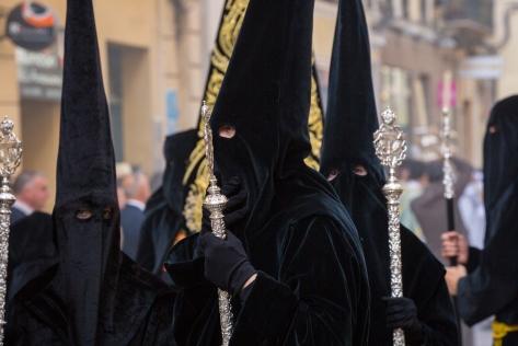 Semana Santa Malaga Spain 5-4-2015